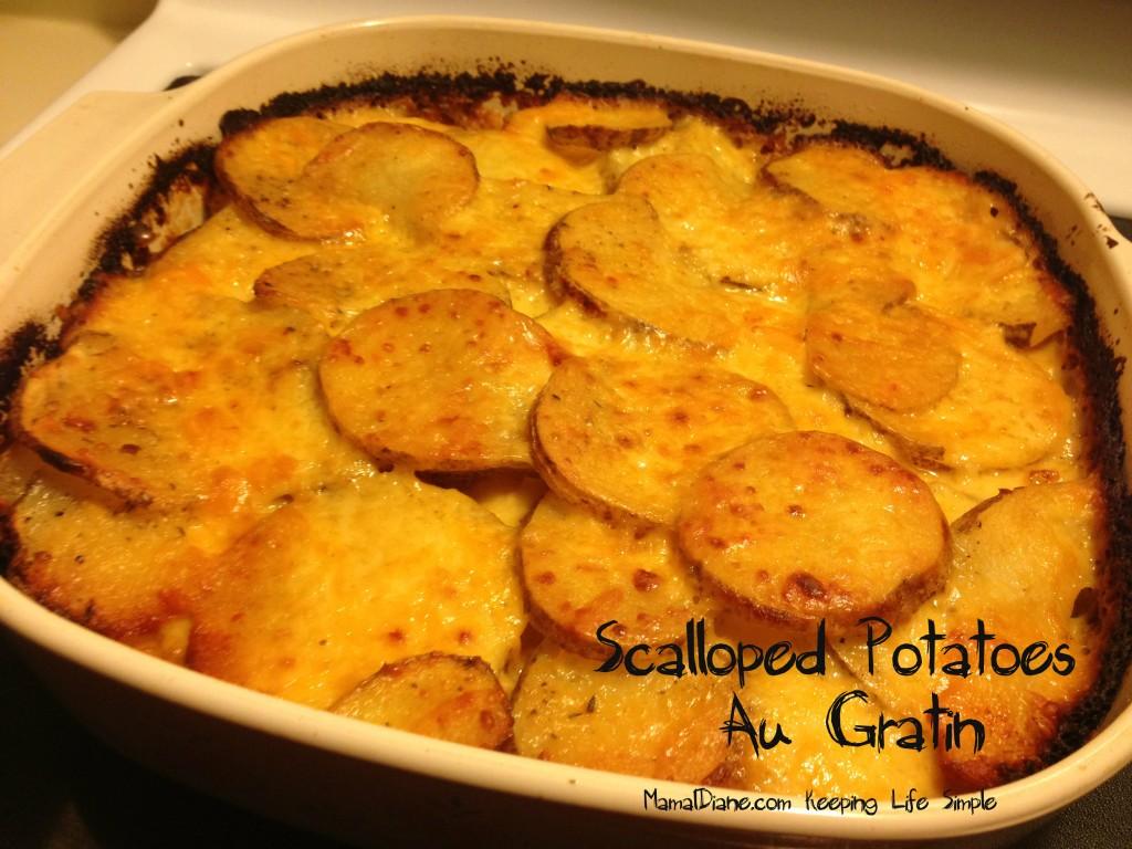 Scalloped Potatoes 118a