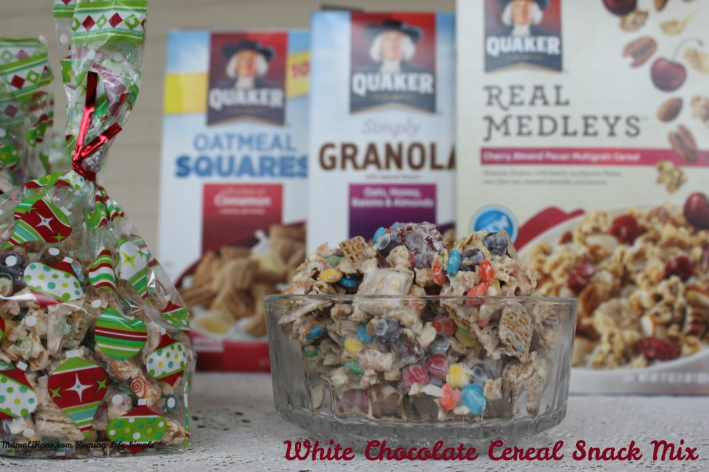 White Chocolate Cereal Snack MIx 6