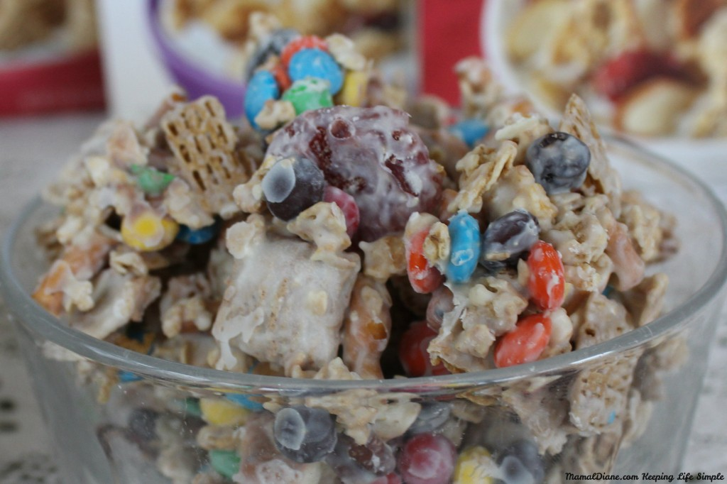 White Chocolate Cereal Snack MIx 7