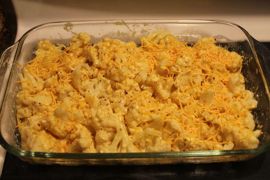 Cheesy Cauliflower Bake 011
