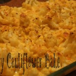 Cheesy Cauliflower Bake 030