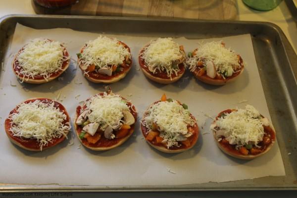 Mini Bagel Pizzas 013