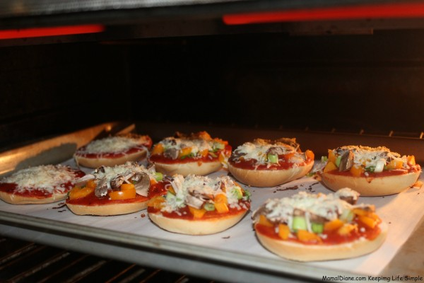 Mini Bagel Pizzas 018