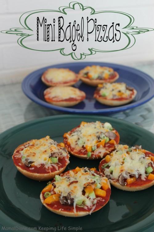 Mini Bagel Pizzas 023
