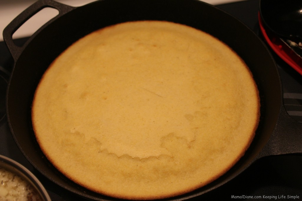 Skillet Corn Bread 018