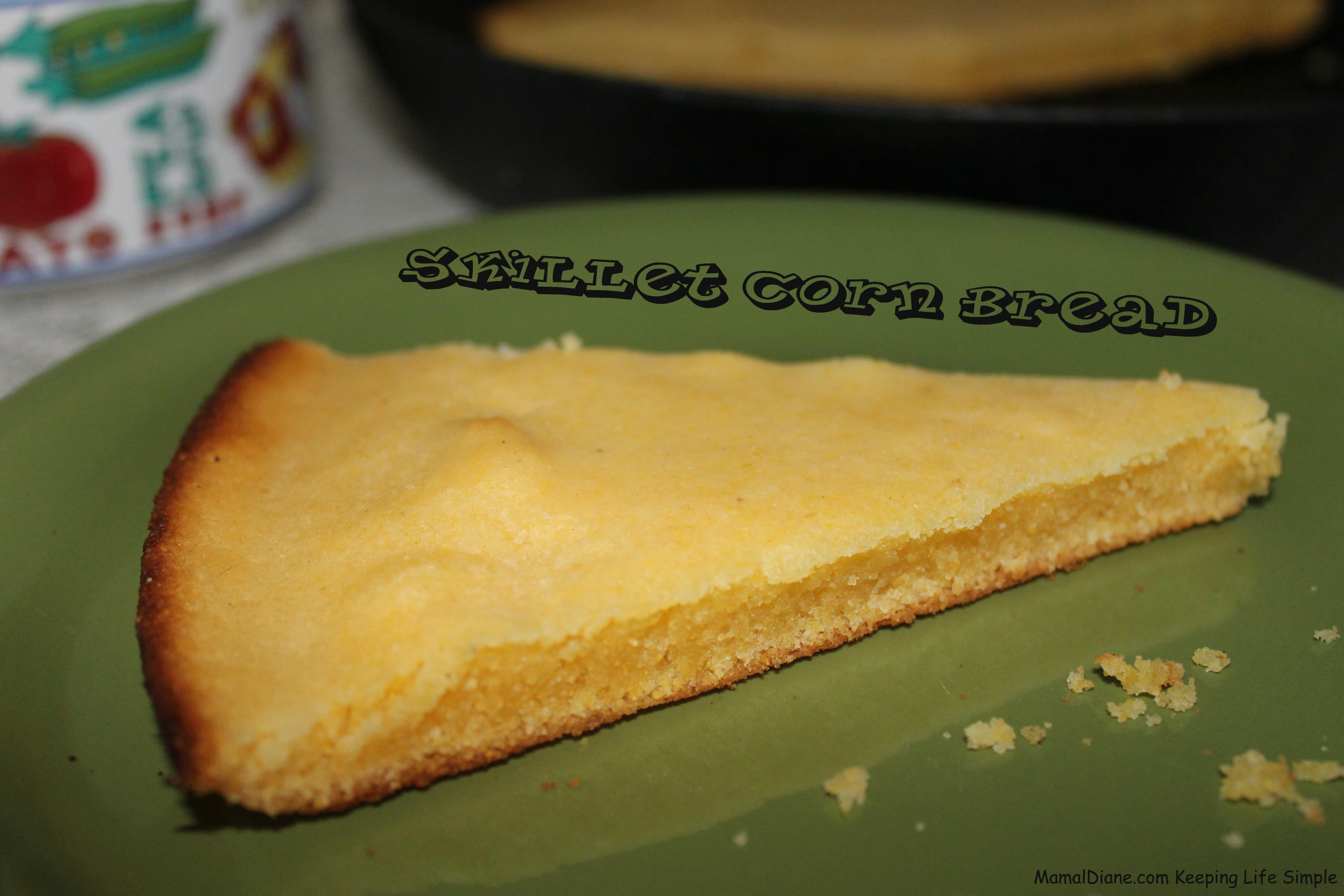 Skillet Corn Bread 057