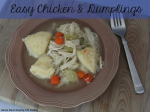 Easy Chicken & Dumplings 041