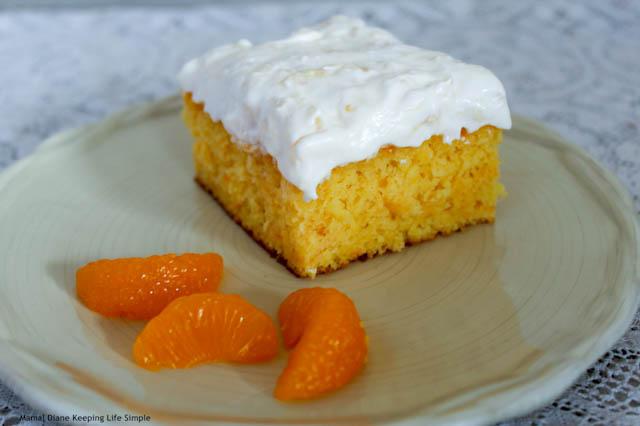 Mandarin Orange Cake 13