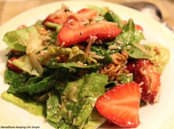 Strawberry Crunch Salad 11
