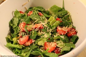 Strawberry Crunch Salad 7
