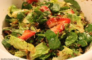 Strawberry Crunch Salad 9