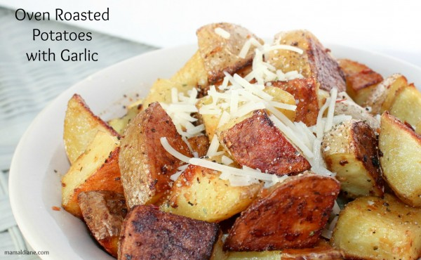 Garlic Roasted Potatoes 4a