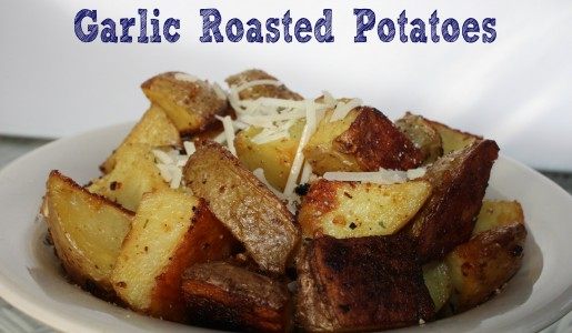 Garlic Roasted Potatoes 6