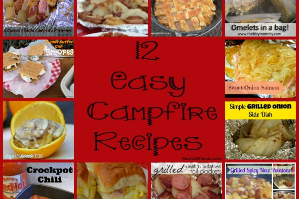 12 easy campfire recipes