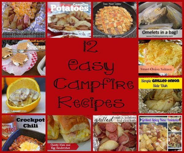 12 easy campfire recipes