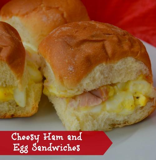 Cheesy-Ham-Egg-Sandwiches-Recipe