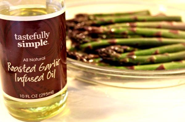 Roasted Asparagus Salad with Hemp Hearts 008