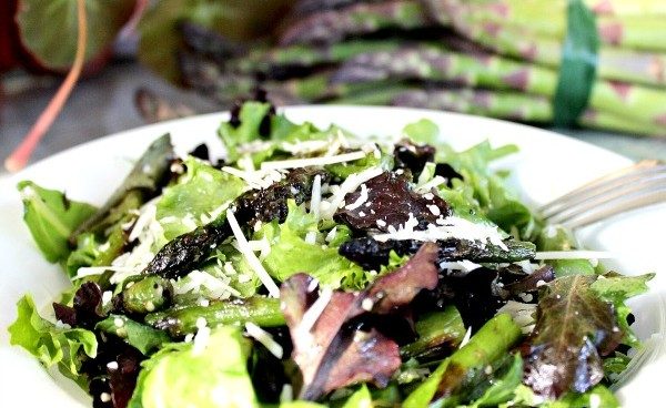 Roasted Asparagus Salad with Hemp Hearts 034