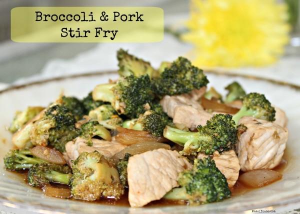 Broccoli & Pork Stir Fry 0