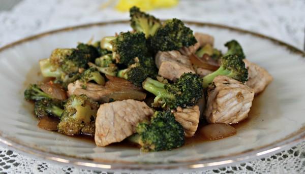 Broccoli & Pork Stir Fry 5