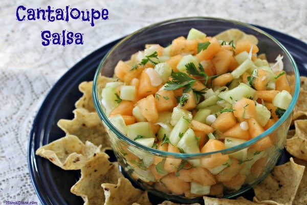 Cantaloupe Salsa 1
