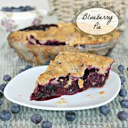 Blueberry Pie 250x250