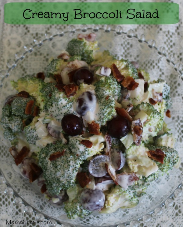 Creamy Broccoli Salad 10