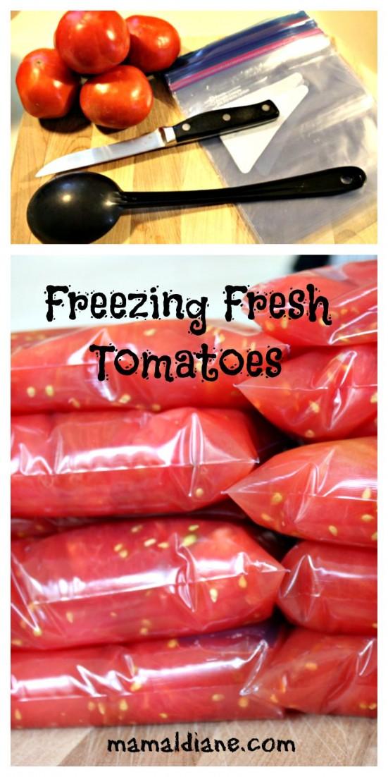 Freezing Fresh Tomatoes 02