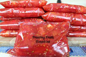 Freezing Fresh Tomatoes small