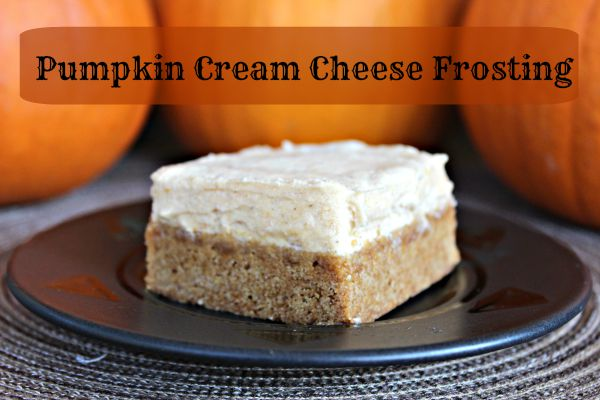 Pumpkin Cream Cheese Frosting 3