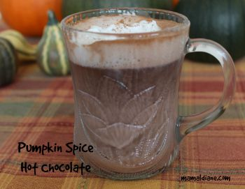 Pumpkin Spice Hot Chococlate 350x250