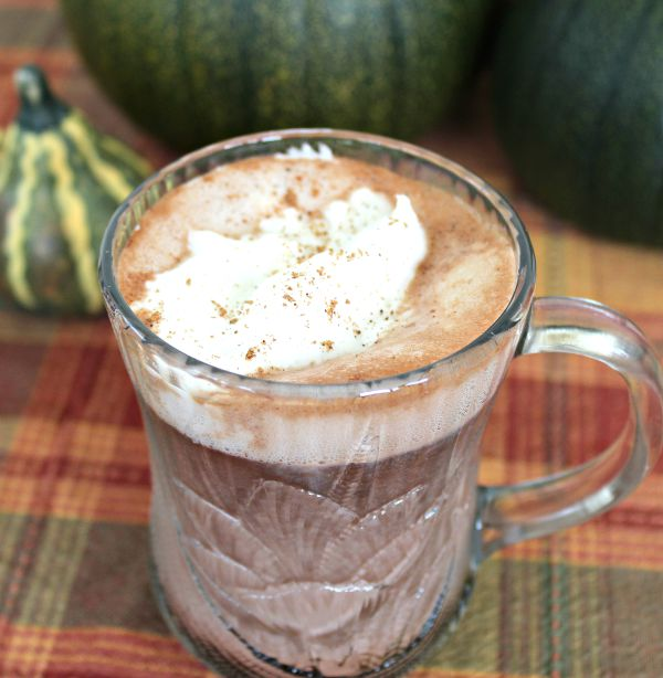 Pumpkin Spice Hot Chocolate 4