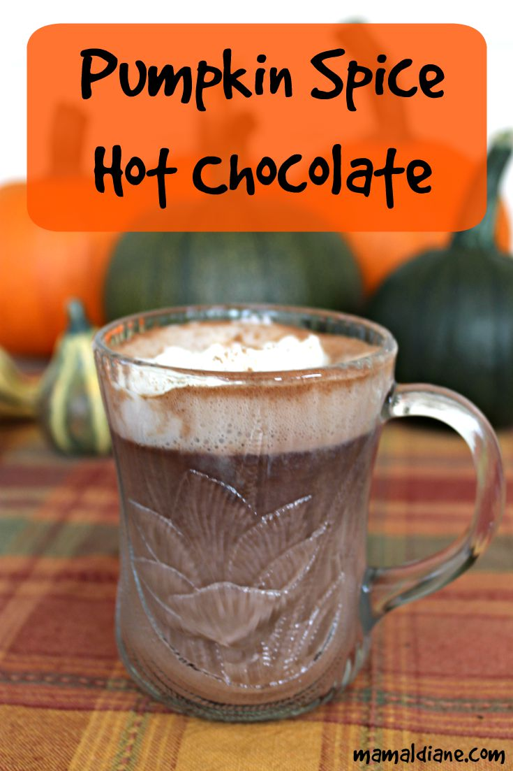Pumpkin Spice Hot Chocolate – Mamal Diane