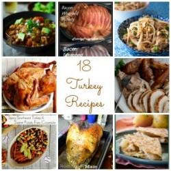 18 Turkey Recipes collage