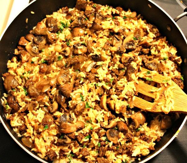 Basmati Rice, Chorizo & Mushroom Side Dish 7