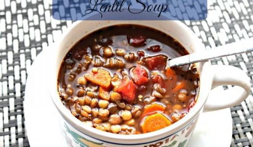 Lentil Soup d