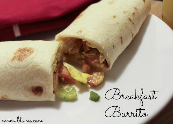 Breakfast Burrito 9