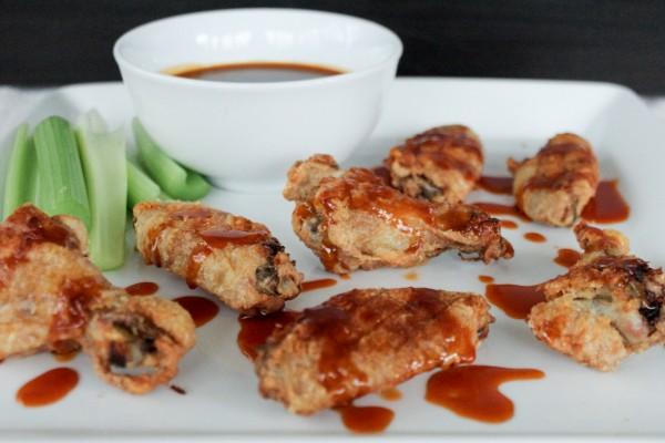 Honey Sriracha Wings 081