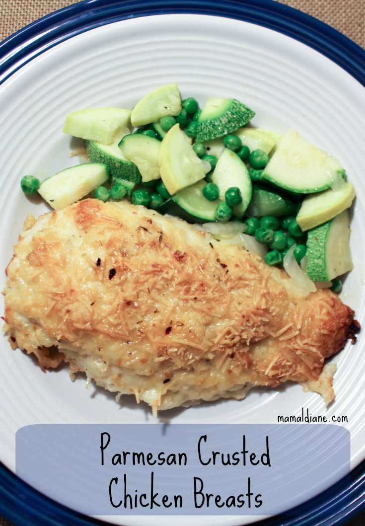 Parmesan Crusted Chicken Breasts i