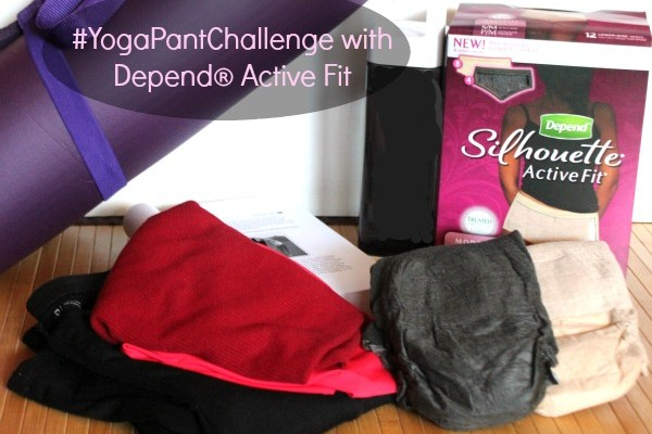 #YogaPantChallenge with Depend® Active Fit 009a