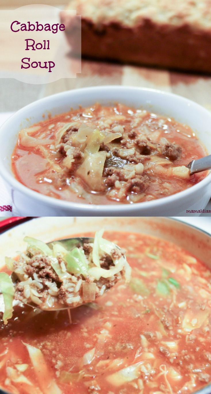 Cabbage Roll Soup Pinterest