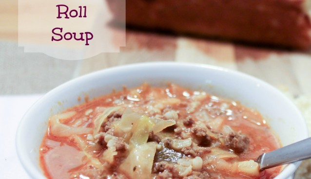 Cabbage Roll Soup j