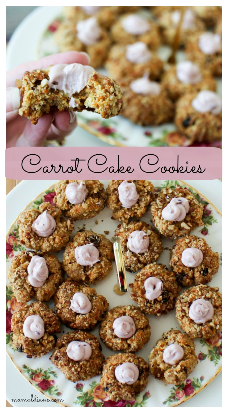 Carrot Cake Cookies Pinterest