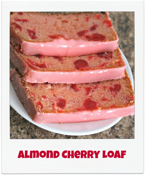 almond cherry loaf