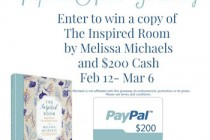 inspired Home Giveaway sidebar image