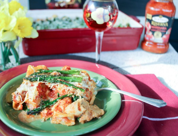 Italian Inspired Meals - Baked Ziti with Seasonal Inspired Vegetables d