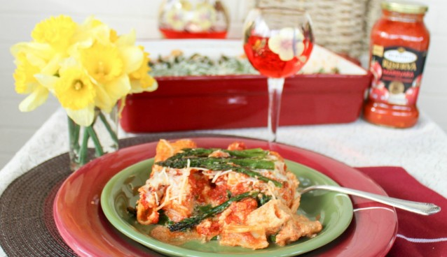 Italian Inspired Meals - Baked Ziti with Seasonal Inspired Vegetables e