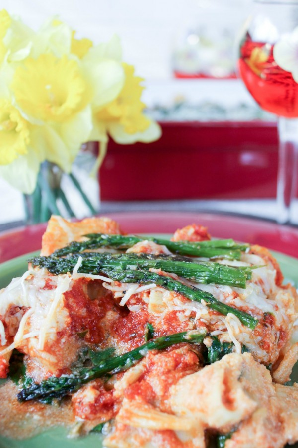 Italian Inspired Meals - Baked Ziti with Seasonal Inspired Vegetables f