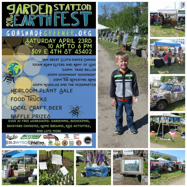 Earthfest Garden Station 2016 collage