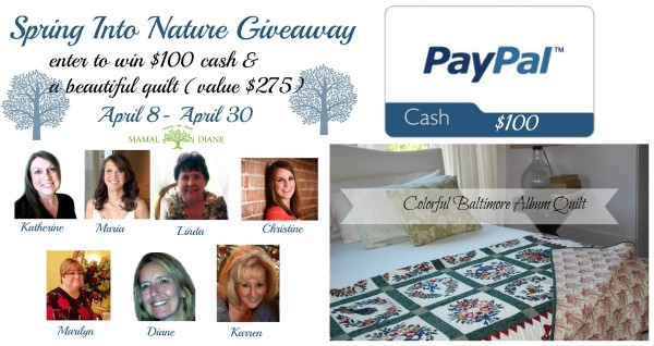 Spring Into Nature Giveaway diane